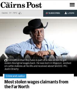 Cairns Post screenshot